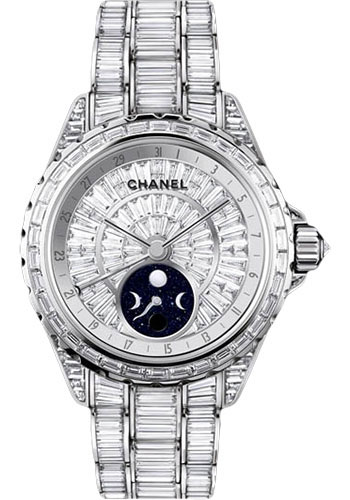 Chanel Watches - J12 White Gold 38mm Moonphase - Style No: H3426