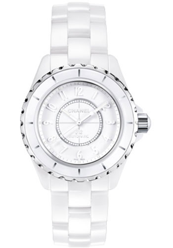 Chanel Watches - J12 White Ceramic 38mm Automatic - Style No: H3443
