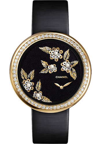 Chanel Watches - Mademoiselle Prive Camelia Lesage - Style No: H3821