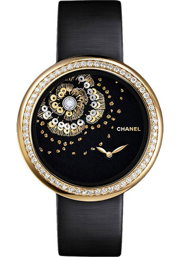 Chanel Watches - Mademoiselle Prive Camelia Lesage - Style No: H3822