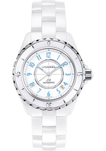 Chanel Watches - J12 White Ceramic 38mm Automatic - Style No: H3827