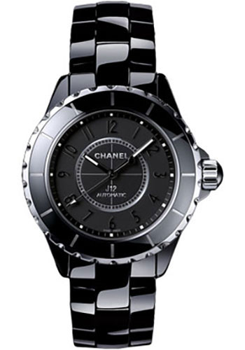 Chanel Watches - J12 Black Ceramic 33mm Automatic - Style No: H3828