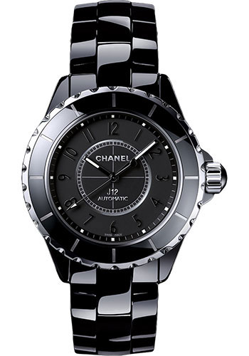 Chanel Watches - J12 Black Ceramic 38mm Automatic - Style No: H3829