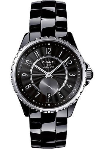 Chanel Watches - J12 Black Ceramic 365 Automatic - Style No: H3836