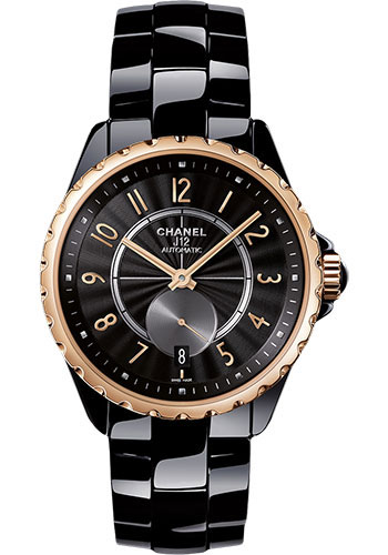 Chanel Watches - J12 Black Ceramic 365 Automatic - Style No: H3838