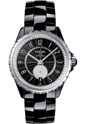 Chanel Watches - J12 Black Ceramic 365 Automatic - Style No: H3840