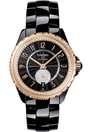 Chanel Watches - J12 Black Ceramic 365 Automatic - Style No: H3842