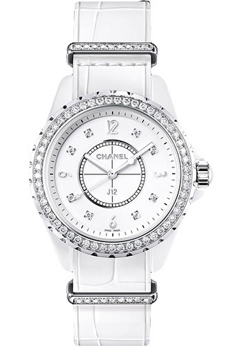 Chanel Watches - J12 White Ceramic G10 Quartz - Style No: H4190