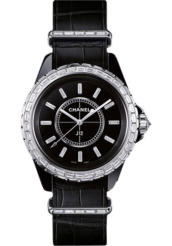 Chanel Watches - J12 Black Ceramic G10 Quartz - Style No: H4191