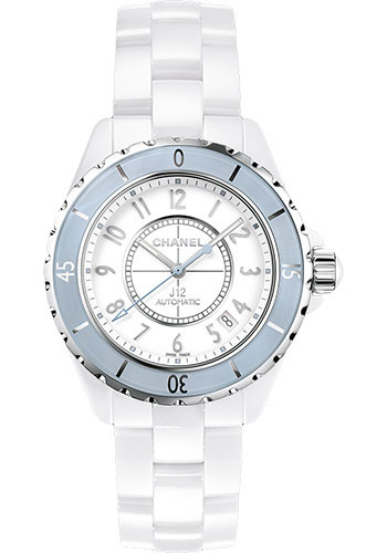 Chanel Watches - J12 White Ceramic 38mm Automatic - Style No: H4341