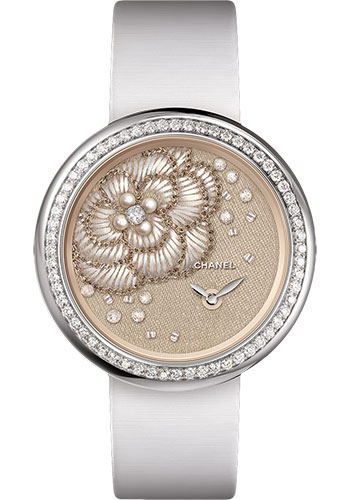 Chanel Watches - Mademoiselle Prive Camelia Lesage - Style No: H4409