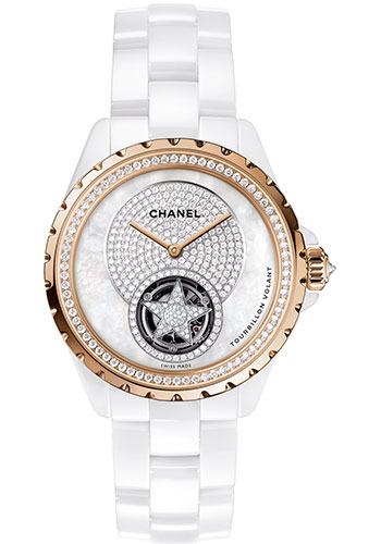 Chanel Watches - J12 White Ceramic 38mm Tourbillon - Style No: H4563