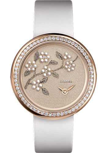 Chanel Watches - Mademoiselle Prive Camelia Lesage - Style No: H4659