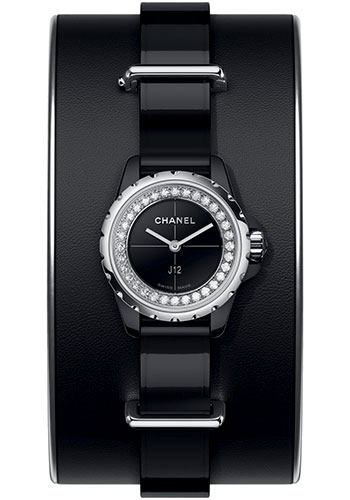 Chanel Watches - J12 Black Ceramic 19mm Quartz - Style No: H4663