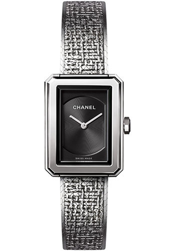 Chanel Watches - Boy-Friend Small Size - Stainless Steel - Style No: H4876