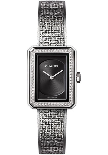 Chanel Watches - Boy-Friend Small Size - Stainless Steel - Style No: H4877