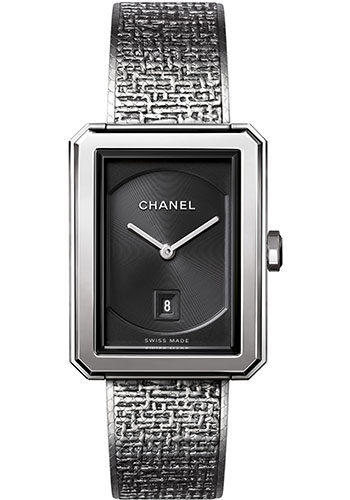 Chanel Watches - Boy-Friend Medium Size - Stainless Steel - Style No: H4878