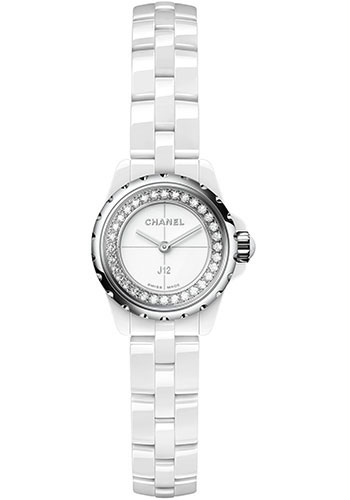 Chanel Watches - J12 White Ceramic 19mm Quartz - Style No: H5237
