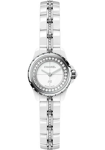 Chanel Watches - J12 White Ceramic 19mm Quartz - Style No: H5238