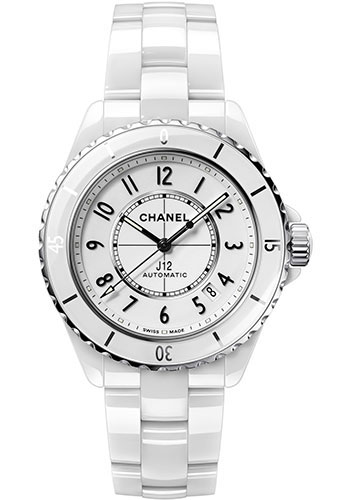Chanel Watches - J12 White Ceramic 38mm Automatic - Style No: H5700