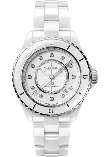 Chanel Watches - J12 White Ceramic 38mm Automatic - Style No: H5705