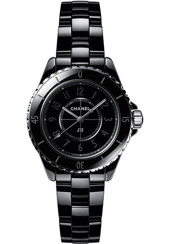 Chanel Watches - J12 Black Ceramic 33mm Phantom Quartz - Style No: H6346