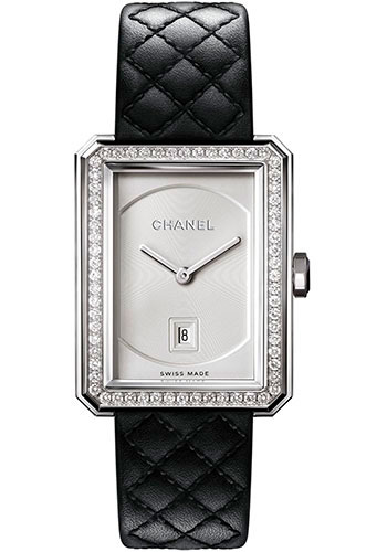 Chanel Watches - Boy-Friend Medium Size - Stainless Steel - Style No: H6402