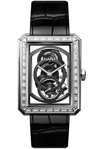 Chanel Watches - Boy-Friend Large Size - Skeleton - Style No: H6433