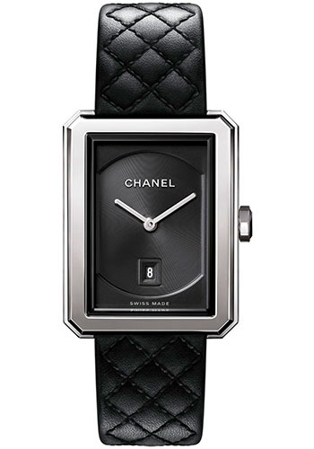 Chanel Watches - Boy-Friend Medium Size - Stainless Steel - Style No: H6585