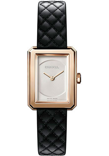 Chanel Watches - Boy-Friend Small Size - Beige Gold - Style No: H6587