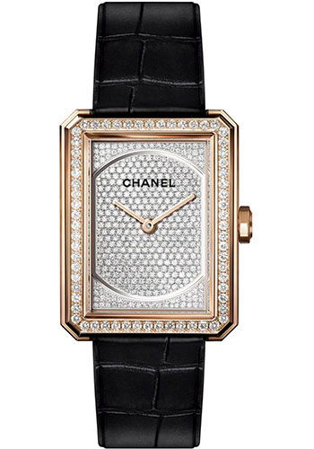 Chanel Watches - Boy-Friend Medium Size - Beige Gold - Style No: H6593