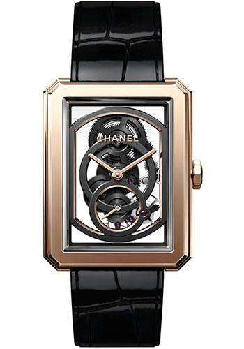Chanel Watches - Boy-Friend Large Size - Skeleton - Style No: H6594