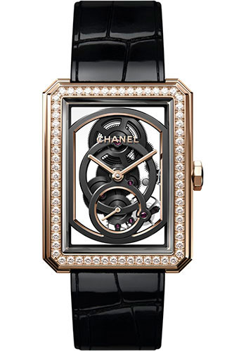 Chanel Watches - Boy-Friend Large Size - Skeleton - Style No: H6595