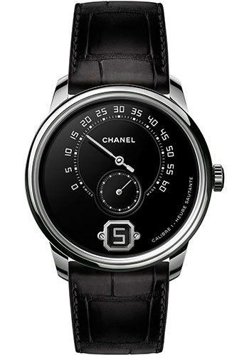 Chanel Watches - Monsieur Platinum - Style No: H6597