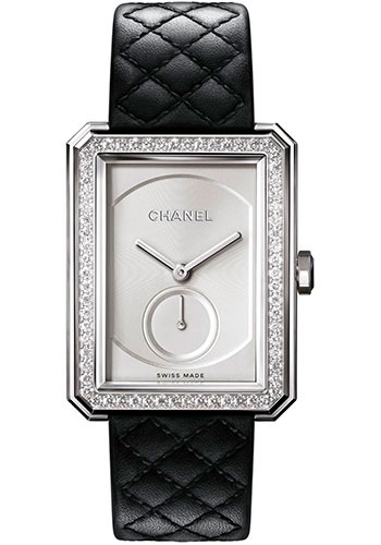 Chanel Watches - Boy-Friend Large Size - White Gold - Style No: H6678