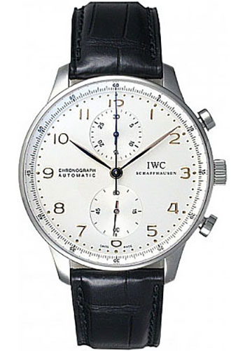 IWC Watches - Portuguese Chronograph - Stainless Steel - Style No: IW371445