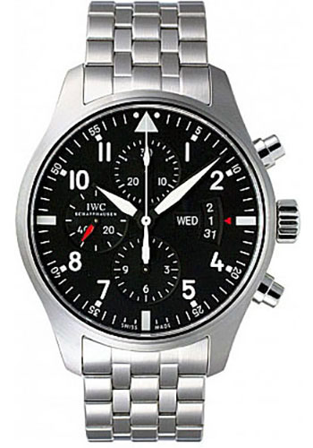IWC Watches - Pilots Watch Chronograph - Style No: IW377704