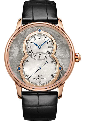 Jaquet Droz Watches - Grande Seconde Circled Meteorite 43mm - Style No: J003033339