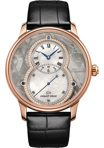 Jaquet Droz Watches - Grande Seconde Circled Meteorite 43mm - Style No: J003033340