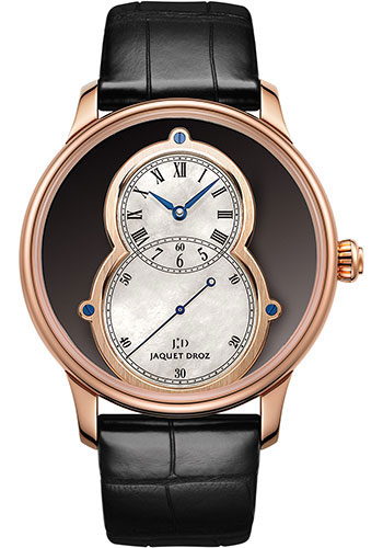 Jaquet Droz Watches - Grande Seconde Circled Onyx 43mm - Style No: J003033342
