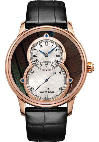 Jaquet Droz Watches - Grande Seconde Circled Spectrolite 43mm - Style No: J003033344