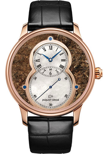 Jaquet Droz Watches - Grande Seconde Circled Bronzite 43mm - Style No: J003033357