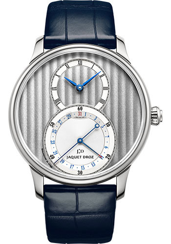 Jaquet Droz Watches - Grande Seconde Quantieme 39mm - Style No: J007010240