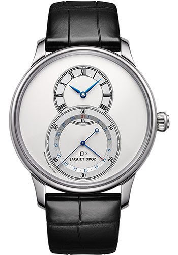 Jaquet Droz Watches - Grande Seconde Quantieme 43mm - Style No: J007030242