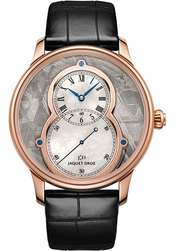 Jaquet Droz Watches - Grande Seconde Circled Meteorite 39mm - Style No: J014013221