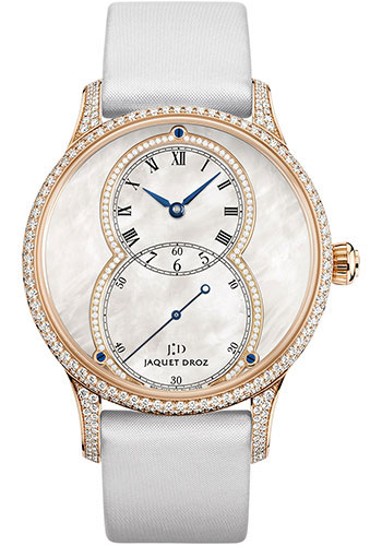Jaquet Droz Watches - Grande Seconde Circled Mother-of-Pearl 39mm - Style No: J014013227