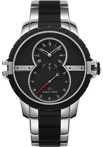 Jaquet Droz Watches - Grande Seconde SW Stainless Steel - Rubber - Style No: J029030140