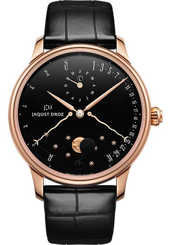 Jaquet Droz Watches - Astrale Quantieme Perpetual Eclipse - Style No: J030533200