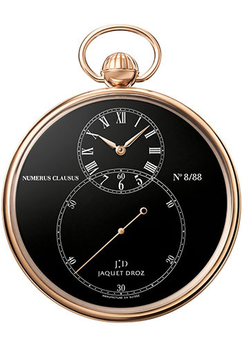 Jaquet Droz Watches - The Pocket Watch Grande Seconde - Style No: J080033003