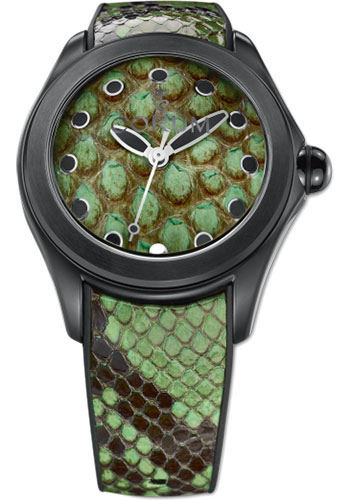 Corum Watches - Bubble 42 mm - Python - Style No: L082/02996 - 082.410.98/0337 PV01
